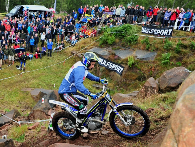 THE WULFSPORT OSET BRITISH TRIAL GP – 13/14 June 2015 NORD VUE  PENRITH