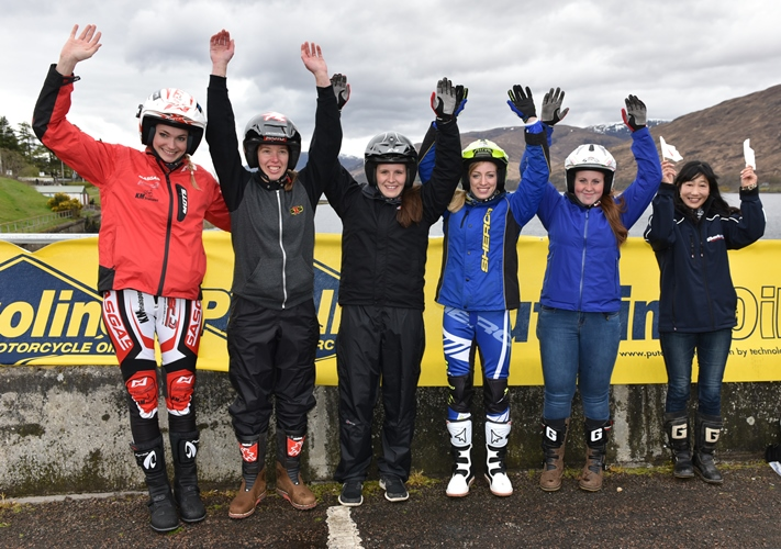 Girl power at Scottish Six Days Trial