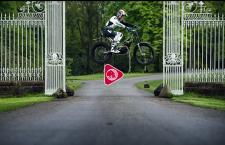 Watch Dougie ride Cholmondeley Castle