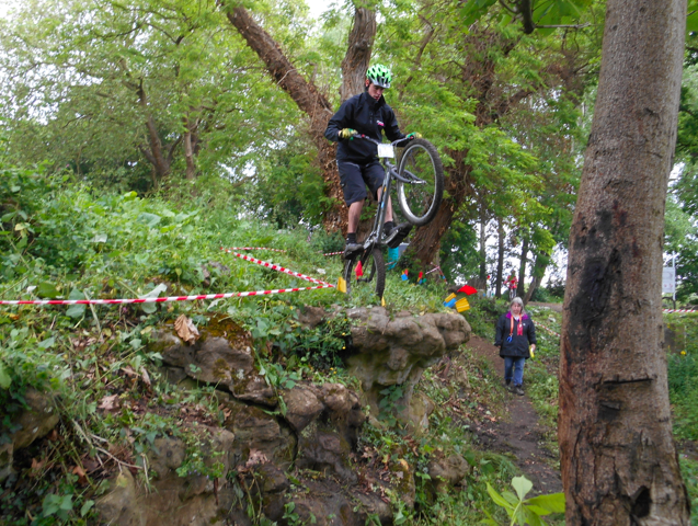 Crowthorne Cycle Trials. Rd 4