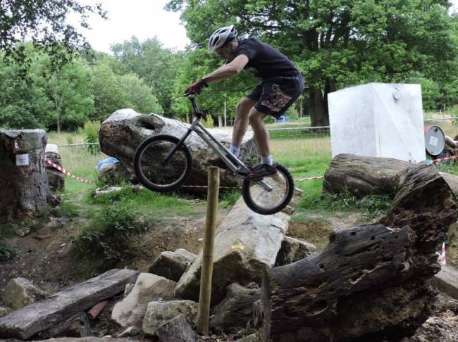 Hook Woods Cycle Trials weekend