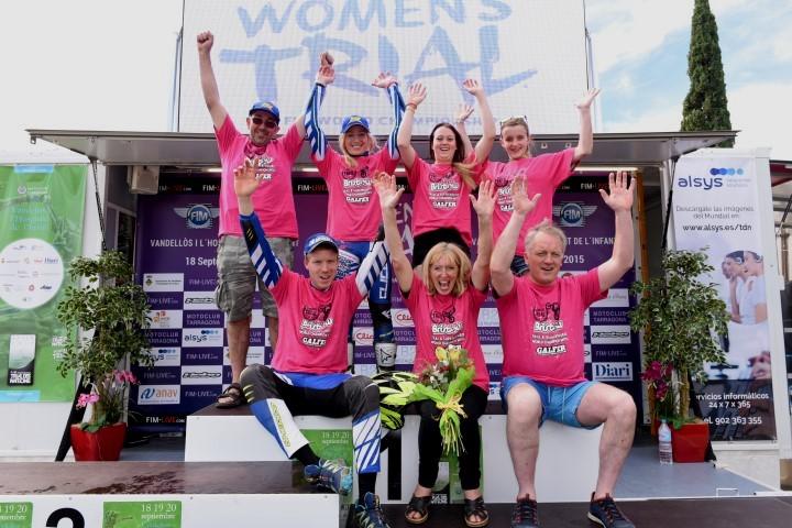 Congratulations Emma Bristow 2015 Ladies World Trials Champion