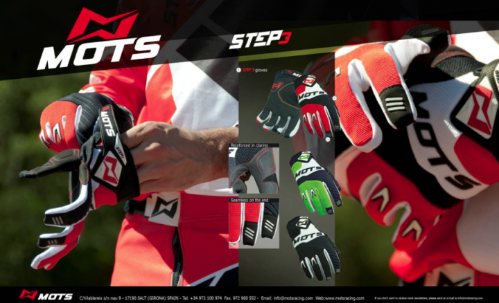 MOTS Step 3 Gloves