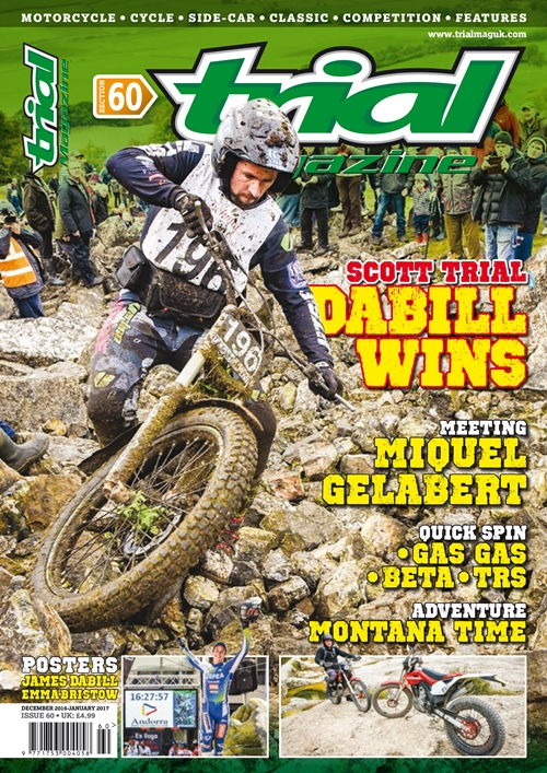 The Ideal Trials Christmas Gift – A 6 Issue Trial Magazine Subscription!