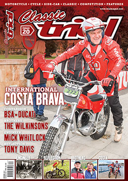 Classic Trial Magazine current issue - UK