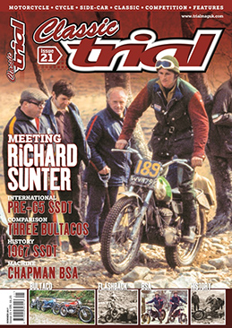 Classic Trial Magazine current issue - Overseas