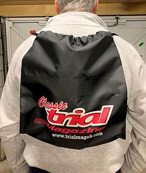 Classic Trial Magazine Bag - UK