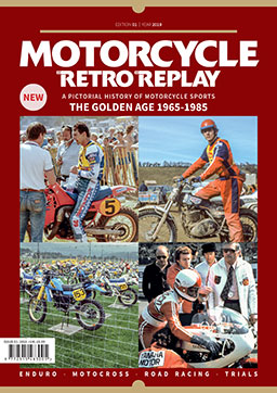 Motorcycle retro replay - magazine - Overseas