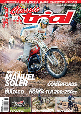 Classic Trial Magazine current issue - UK only
